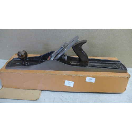2002 - Stanley Bailey No.7 jointer plane...