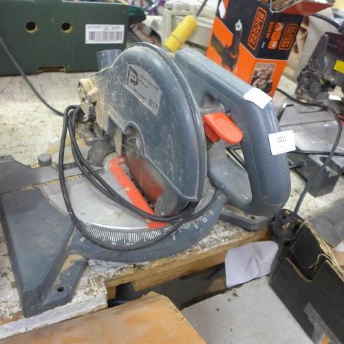 2011 - Pro Performance chop saw 240v - W...