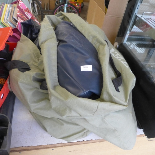 2055 - Intex self-inflating bed x2 - W...