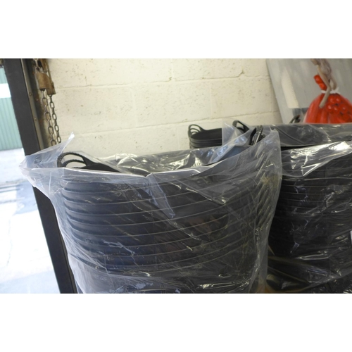 2058 - 5 Black 2 handled Gorilla tubs - unused * This lot is subject to VAT...