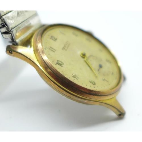 1010 - A gentleman's Bentley wristwatch, a/f...