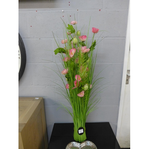 1405 - A 100cm sheaf of pink poppies   (2603316)...