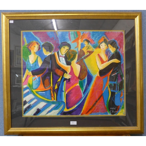20 - Phillip Maxwell, The Tango Club, limited edition giclee print, numbered 169/225, 51cms x 62cms, fram...