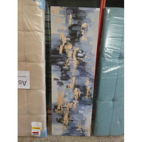 3004 - A print on canvas (153cm x 50cm) * This lot is subject to VAT...