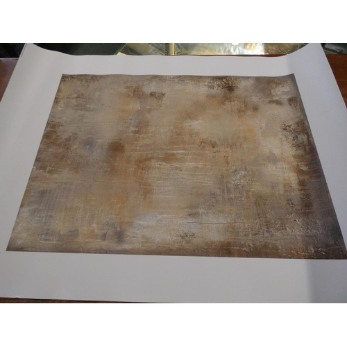 3045 - Two unframed prints:- House Rules and Gold Stone by Soozy Barker * This lot is subject to VAT...