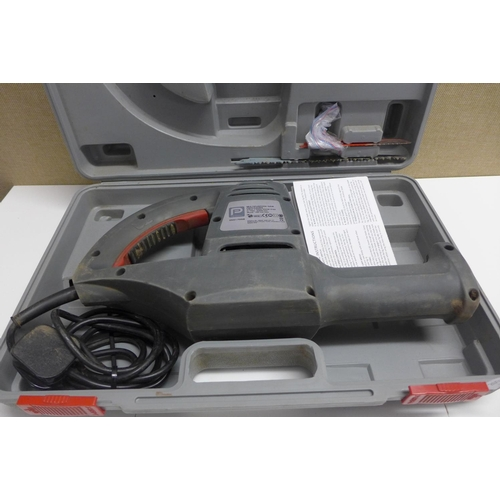 2008 - Pro Performance reciprocating saw in case - W...