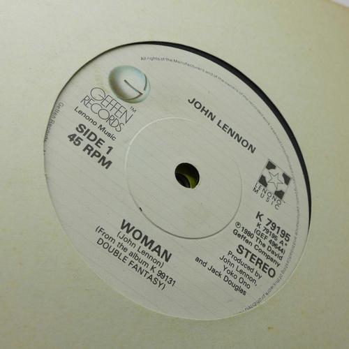 648 - Beatles interest: A John Lennon collection of twenty 7