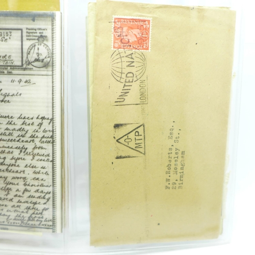 668 - Stamps; GB postal history, pre-stamp (9) onwards (42 covers)...