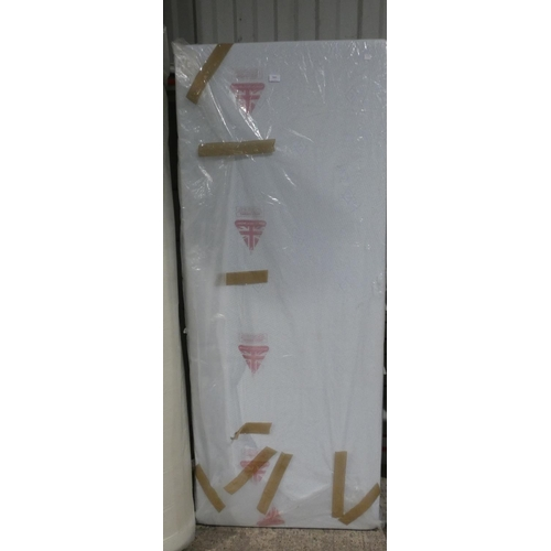3001 - A single 3ft Cool Touch mattress * this lot is subject to VAT...
