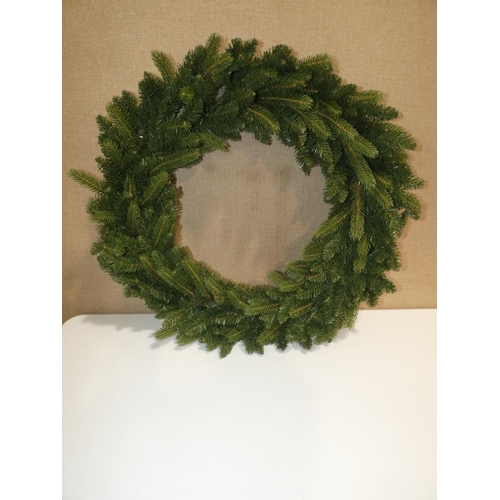 3015 - A National Company Grande fir wreath (D 91cm) * this lot is subject to VAT...