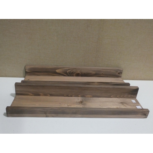3021 - Two Rebecca floating shelves * this lot is subject to VAT...