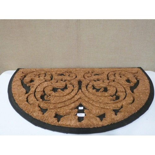 3045 - Two large demi-loom door mats (L98 x W 60cm) * this lot is subject to VAT...
