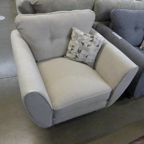 1306 - A Kensington mink armchair * this lot is subject to VAT...