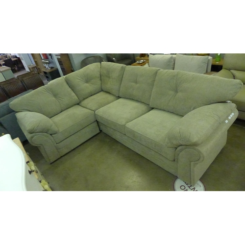 1310 - A Beckenham taupe corner sofa * this lot is subject to VAT...