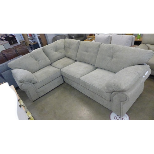1311 - A Beckenham taupe corner sofa * this lot is subject to VAT...