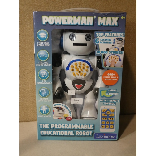 3004 - Powerman My First Robot    (207-491)  * This Lot Is Subject To Vat...