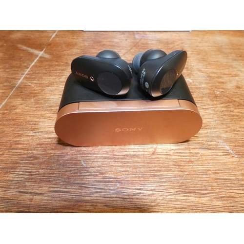 3040 - Sony Wireless Ear Buds, RRP £129.99 + VAT (WF-1000XM3)        (207-384)  * This Lot Is Subject To Va...