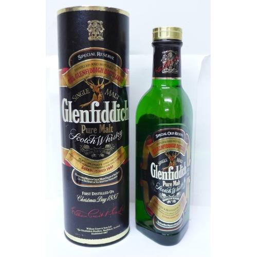 622 - One bottle, Glenfiddich Single Malt Scotch Whisky Special Reserve, 35cl...