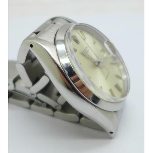 791 - A Rolex Oysterdate Precision wristwatch, 6694-5646553, (78350 19 bracelet)...