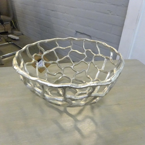 1369 - An Ohlson silver coral inspired bowl (2066312)   #...