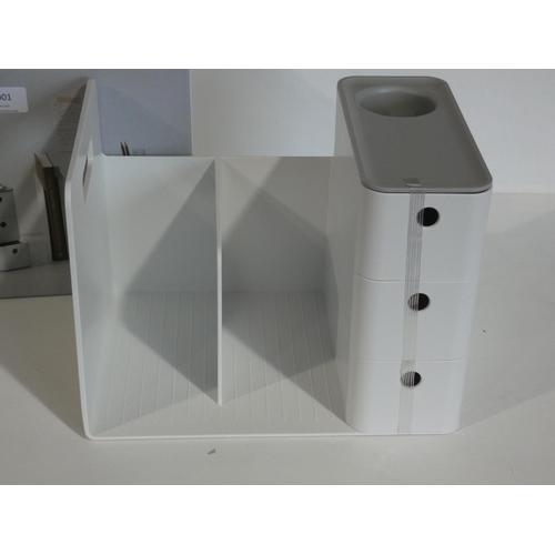 3001 - Litem Combo Desk Organiser (208-27) * This Lot Is Subject To Vat...