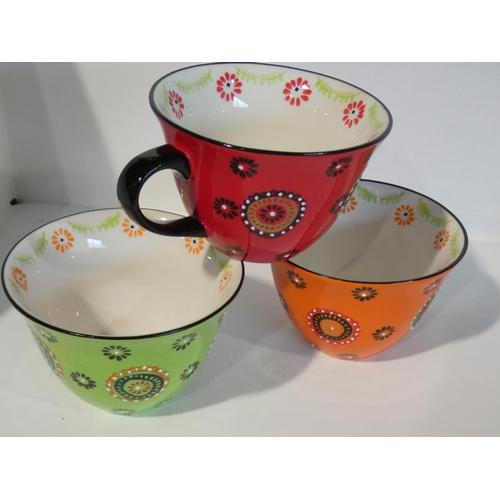 3007 - Signature 6Pk Jumbo Mugs (one damaged) (208-35) * This Lot Is Subject To Vat...