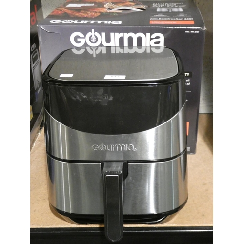 3019 - Gourmia Digital Air Fryer 5.7L (208-95) * This Lot Is Subject To Vat...