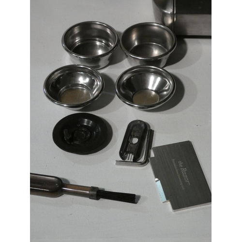 3021 - Sage Pump Coffee Machine with box and accessories (208-96) * This Lot Is Subject To Vat...