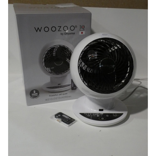 3023 - Iris Woozoo Desk Fan with box and remote     (208-117) * This Lot Is Subject To Vat...