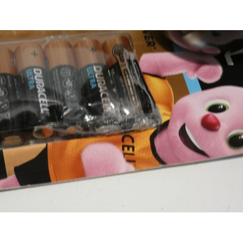 3048 - Duracell AA Ultra Batteries, iPoint Pencil Sharpener and two pairs of Wells Lamont Men's Gloves  (20...