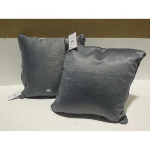 3018 - Two fusion charcoal cushions * this lot is subject to VAT...