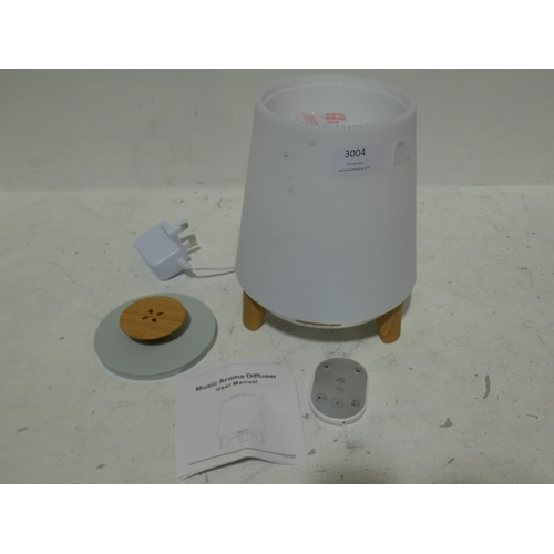 3004 - Atmos Diffuser (Bluetooth Speaker & Lamp + 3 Oils)   (215-273) * This lot is subject to VAT...