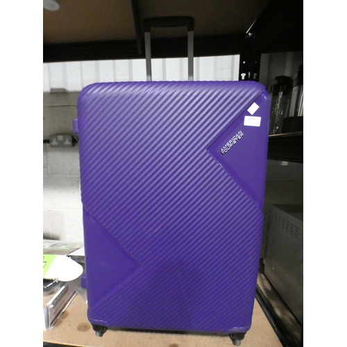 3019 - American Tourister Zakk Large Hardside Spinner Case (Damaged Casing)       (215-558) * This lot is s...