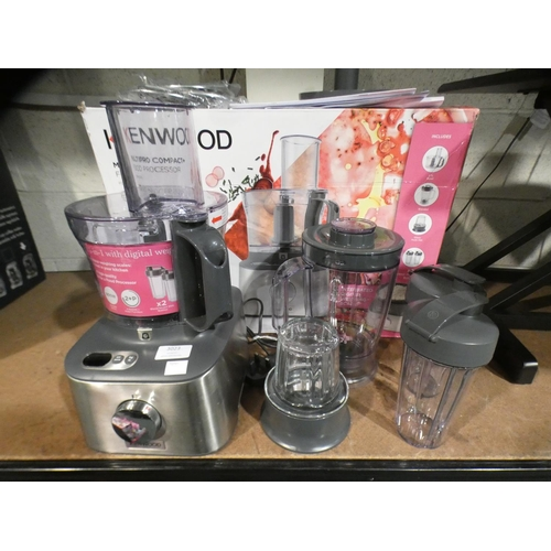 3023 - Kenwood Multipro Compact Food Processor  (215-560) * This lot is subject to VAT...