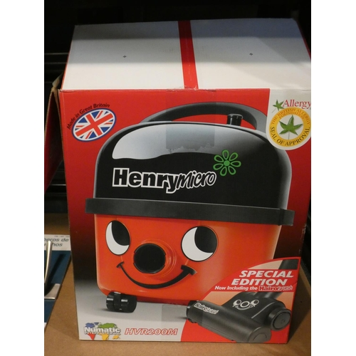 3027 - Henry Micro Hi-Flo Vacuum Cleaner, Rrp £119.99 + Vat (215-522) * This lot is subject to VAT...