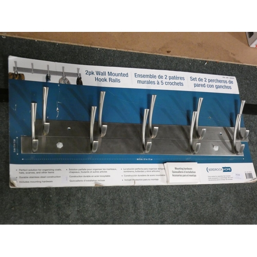 3028 - Birdrock Stainless Steel Hook Rail Pack (215-531) * This lot is subject to VAT...