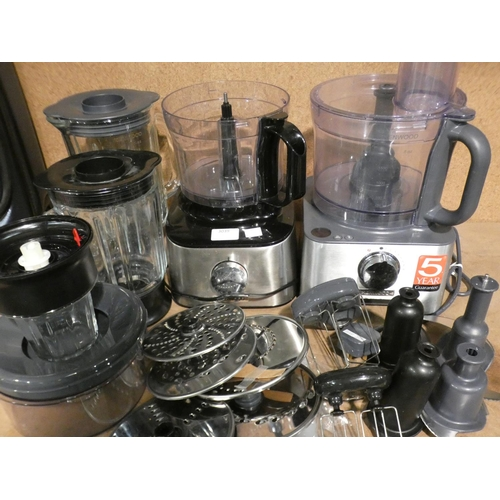 3039 - Two Kenwood Multipro Food Processors (215-501, 505) * This lot is subject to VAT...
