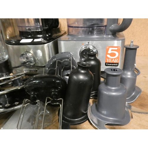 3039 - Two Kenwood Multipro Food Processors (215-501, 505) * This lot is subject to VAT