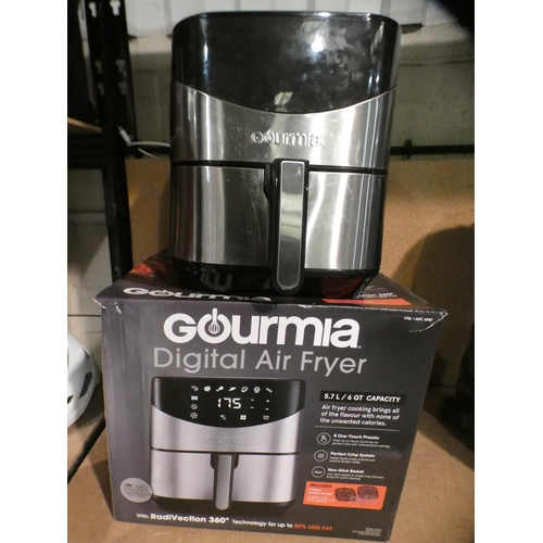 3042 - Gourmia Digital Air Fryer (5.7Ltr) (215-389) * This lot is subject to VAT...