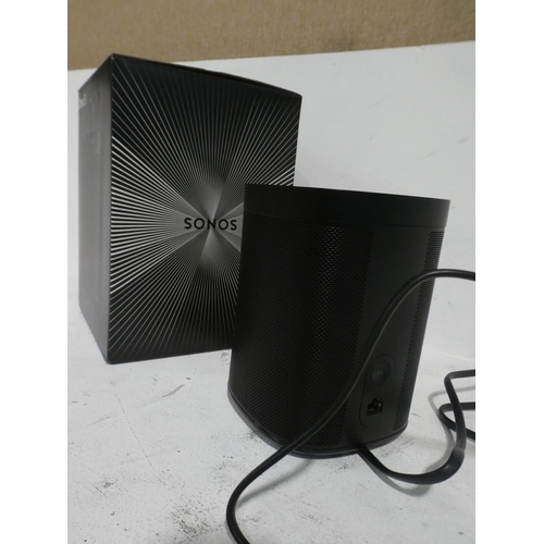 3049 - A Sonos One SL Speaker, Rrp £136.99 + Vat (215-458, 513) * This lot is subject to VAT...