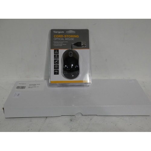 3052 - Targus Keyboard & Mouse (215-516) * This lot is subject to VAT...