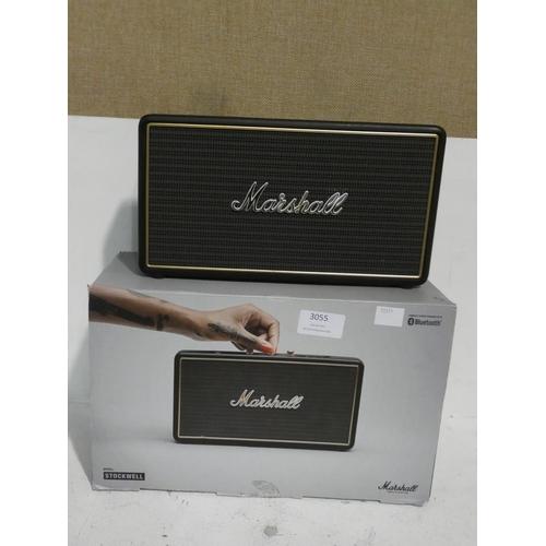 3055 - Marshall Stockwell Speaker, Rrp £99.99 + Vat (215-267) * This lot is subject to VAT...