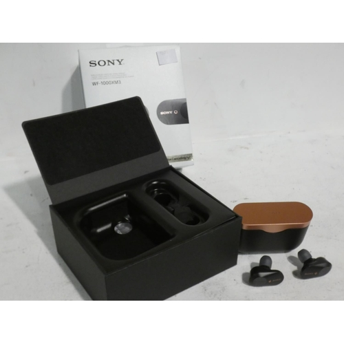 3058 - Sony Wireless Ear Buds (model WF-1000XM3), Rrp £129.99 + Vat (215-271) * This lot is subject to VAT...