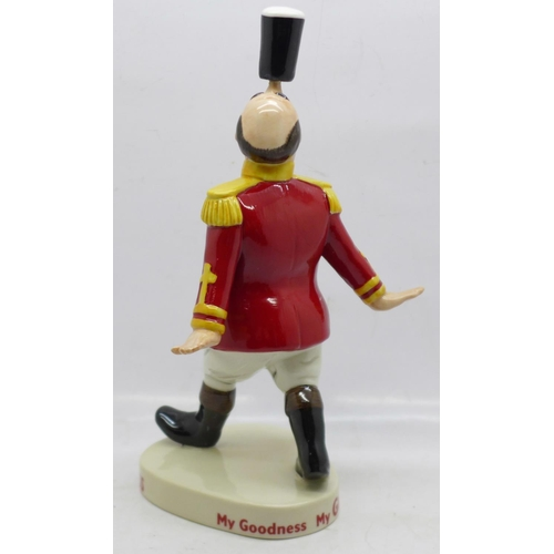 602 - A Coalport Limited Edition Guinness figure, Ringmaster, 903/2000, 18.5cm, boxed