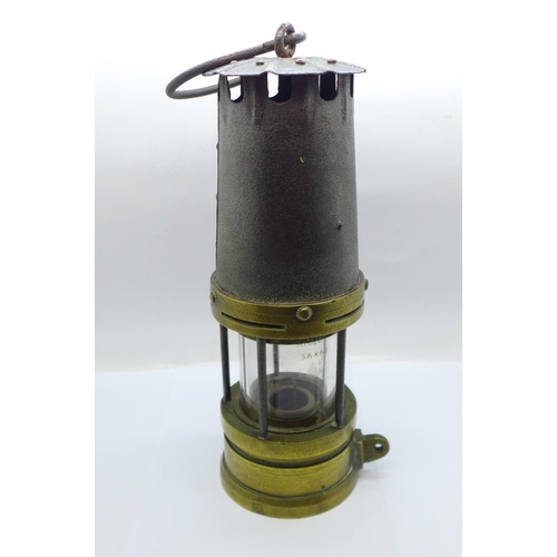601 - A miner's safety lamp...