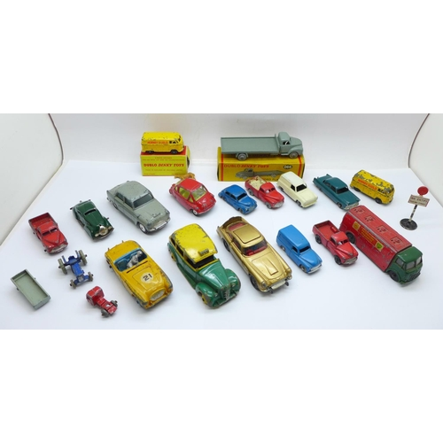 634 - Lesney, Corgi and Dinky die-cast model vehicles...