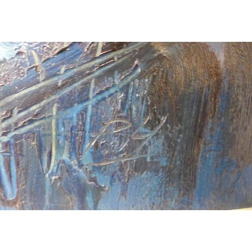 41 - Peter Humphrey, abstract, acrylic, 68 x 91cms, framed...