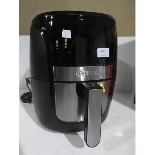 3001 - Gourmia Digital Air Fryer (220-1) * This lot is subject to VAT...