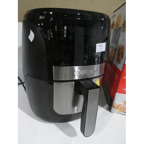 3002 - Gourmia Digital Air Fryer (220-1) * This lot is subject to VAT...