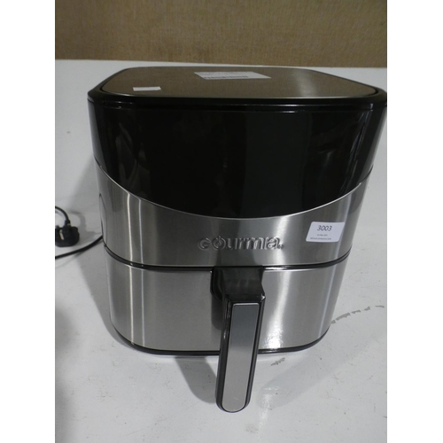 3003 - Gourmia Air Fryer  (220-2) * This lot is subject to VAT...
